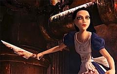 Алиса проворно управляется со своим ножом