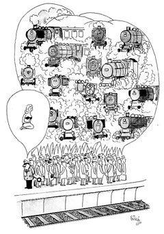 Французская карикатура. Изображение с сайта karikaturist.ru