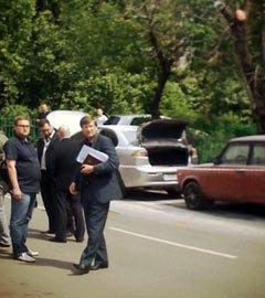 Автомобиль убийцы Буданова. Фото Ирины Воробьевой