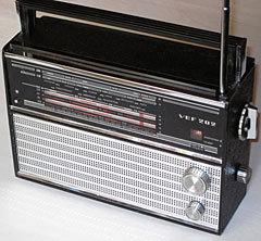 Транзисторный приемник ВЭФ-202, 1971 год. Фото KVK2005