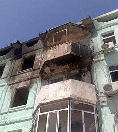 """Последствия взрыва. Фото  """"Ферганы.Ру"""""""