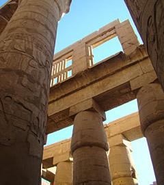 "Фрагмент Карнакского храма в Луксоре. Фото ""Ленты.ру"""