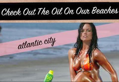Реклама авиакомпании Spirit Airlines - Check Out The Oil On Our Beaches