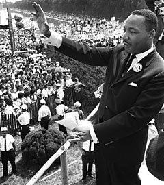 Мартин Лютер Кинг. Архивное фото (c)AFP