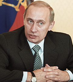 Владимир Путин проводит первое заседание президиума Госсовета РФ, 2000 год. Фото из архива РИА Новости, Владимир Родионов