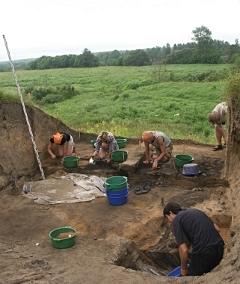 Раскопки в Гнёздово летом 2012 года. Фото с сайта gnezdovo.ru Нажмите, чтобы увеличить.