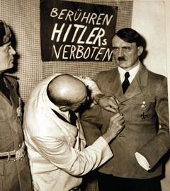 Архивное фото с выставки, посвященной Гитлеру в Берлине. Фото ИТАР-ТАСС