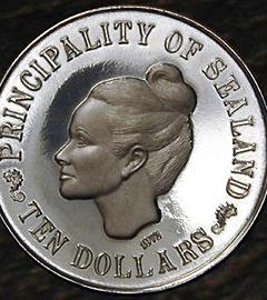 Монета княжества Силенд. Фото с официального сайта княжества