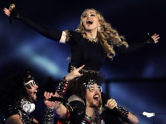 Мадонна. Фото (c)AFP