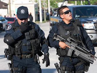 Мексиканские полицейские. Фото Reuters