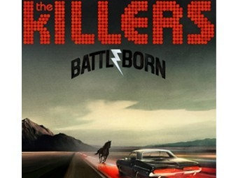 "Обложка альбома The Killers ""Battle Born"""