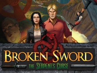 Арт к игре Broken Sword: the Serpent's Curse