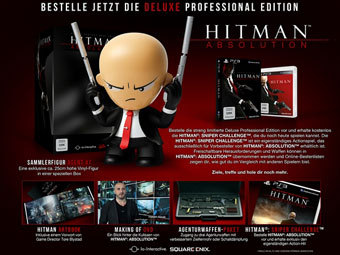 Содержимое Hitman: Absolution Deluxe Professional Edition