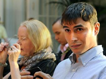 Писатель Сергей Шаргунов. Фото ИТАР-ТАСС/ Руслан Шамуков