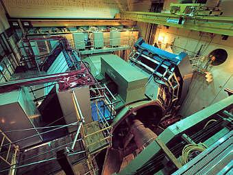 Детектор PHENIX, использовавшийся при работе ускорителя. Фото с сайта лаборатории