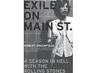 "Обложка книги ""Exile on Main Street: A Season in Hell with the Rolling Stones"""