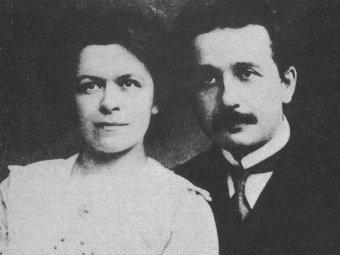 Милева Марич и Альберт Эйнштейн. Фото из архива Еврейского университета