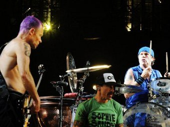 Red Hot Chili Peppers. Фото (c)AFP