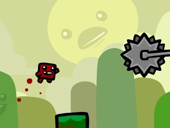 Скриншот Super Meat Boy для iOS