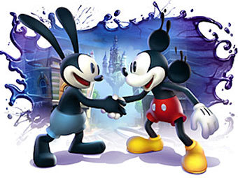 Арт к игре Epic Mickey: The Power Of Two