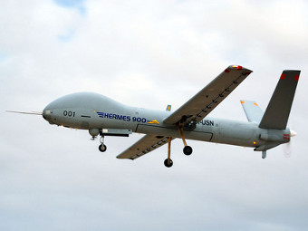 Hermes 900. Фото пресс-службы Elbit Systems