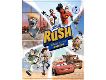 Обложка Kinect Rush: A Disney Pixar Adventure