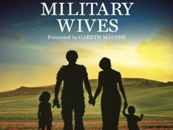 "Фрагмент обложки альбома Military Wives ""In My Dreams"""