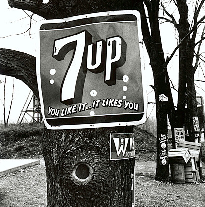"Уильям Кляйн ""Нью-Йорк. 1955"". 7UP, 1955 г. Фото: William Klein"