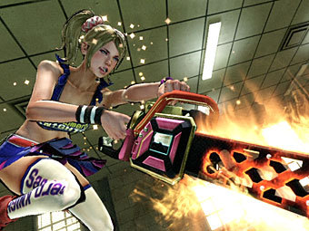 Скриншот Lollipop Chainsaw