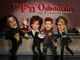 "Постер сериала ""The F'n Osbournes"""
