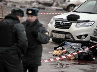 Место убийства Ирины Зироян. Фото РИА Новости, Андрей Стенин