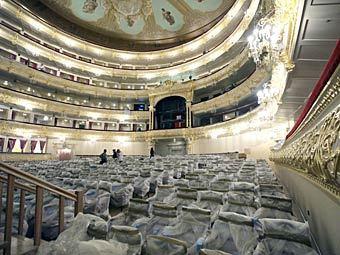 Реконструкция Большого театра. Фото РИА Новости, Руслан Кривобок