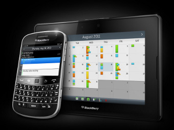 Смартфон BlackBerry и планшет PlayBook