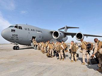 Американские морские пехотинцы. Фото (c)AFP