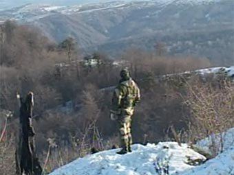 "Спецоперация в Чечне. Кадр телеканала ""Россия 24"""
