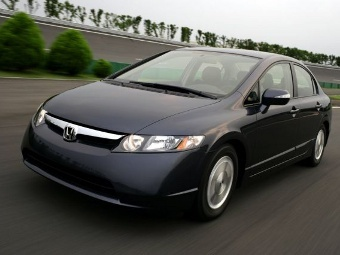Honda Civic Hybrid. Фото с сайта greencarreports.com