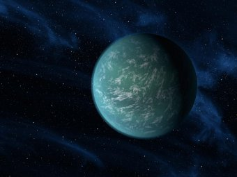 Kepler-22b. Иллюстрация NASA/Ames/JPL-Caltech