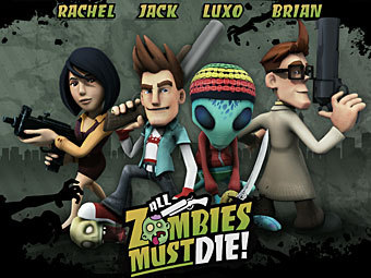 Логотип All Zombies Must Die!