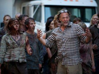 Грег Никотеро и зомби, фото предоставлено FOX Crime