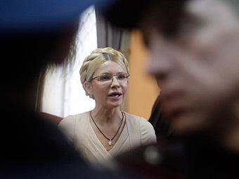 Юлия Тимошенко в Печерском районном суде Киева, 11 октября 2011 года. Фото ИТАР-ТАСС