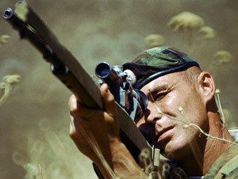 Снайпер мотострелковой бригады. Фото РИА Новости, Владимир Вяткин