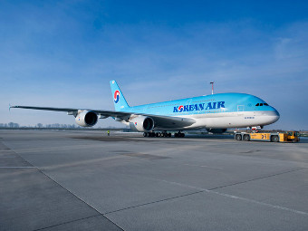 A380 авиакомпании Korean Air. Фото с сайта aviationnews.eu