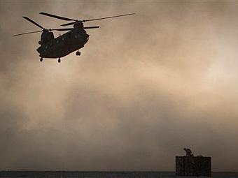 """Американский """"Чинук"""" в Афганистане. Фото (c)AP"""
