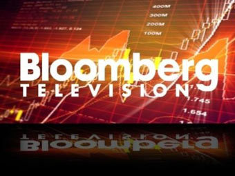Заставка Bloomberg TV