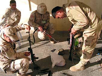 Бойцы Пешмерга. Фото Jim Gordon