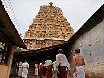 Храм Шри-Падманабхасвами. Фото (c)AP