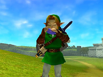 "Скриншот из игры ""Legend of Zelda: Ocarina of Time 3D"""
