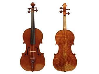 Скрипка Страдивари. Изображение с сайта tarisio.com
