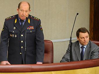 Виктор Кирьянов и Виктор Нилов. Фото ИТАР-ТАСС