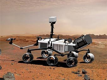 Марсоход Mars Science Laboratory (MSL). Изображение NASA/JPL-Caltech